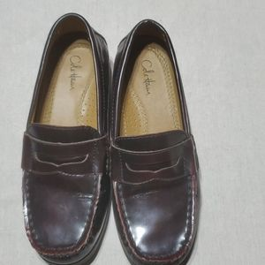 Boys Cole Haan Air Pinch Penny Burgundy Loafers